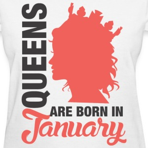 Born In January T-Shirts - Women's T-Shirt