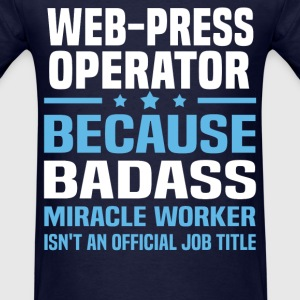 Web-Press Operator Tshirt - Men's T-Shirt
