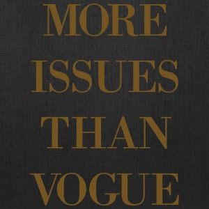 More issues...  - Tote Bag