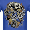 Motocross Mud Skulls - Men's T-Shirt
