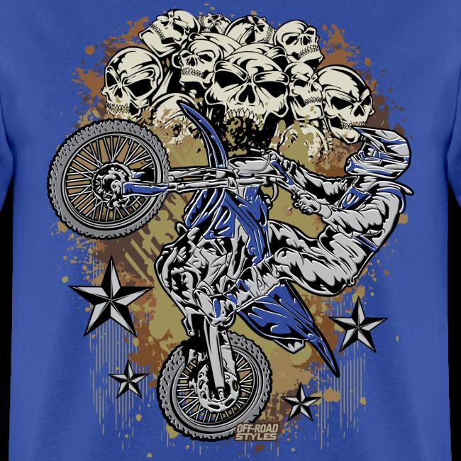 Motocross Mud Skulls