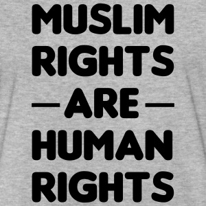 Muslim rights are Human Rights T-Shirts - Fitted Cotton/Poly T-Shirt by Next Level