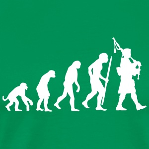Evolution pipebag T-Shirts - Men's Premium T-Shirt