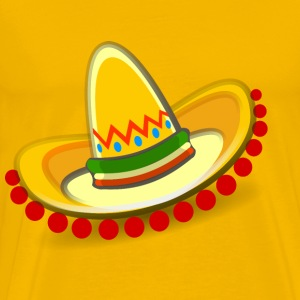 Sombrero Mexican hat - Men's Premium T-Shirt