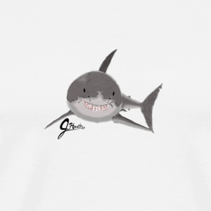Great White Shark - Swaggy Shark - Men's Premium T-Shirt