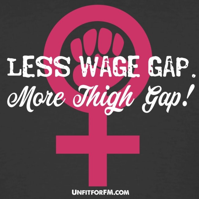 Women's inequality shirt