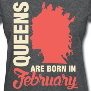 Born In February T-Shirts - Women's T-Shirt