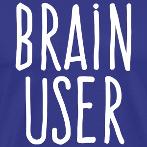 brain user T-Shirts - Men's Premium T-Shirt