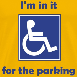 Disabled for the parking - Men's Premium T-Shirt