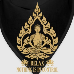 Relax nothing is in control Caps - Bandana
