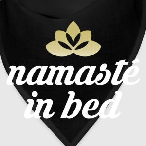 Namaste in bed Caps - Bandana
