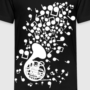 Horn_Music - Toddler Premium T-Shirt