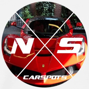 ns_carspots logo - Men's Premium T-Shirt