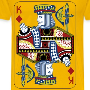 King Of Diamonds - Men's Premium T-Shirt