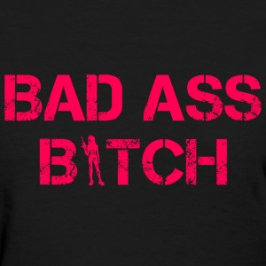 BAD ASS BITCH CUTE WOMENS GRAPHIC T-Shirts - Women's T-Shirt
