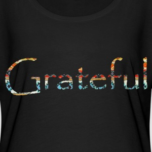 Native Design Grateful Women's T-Shirt - Women's Flowy T-Shirt