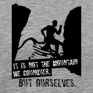 Conquer ourselves - Men's Premium T-Shirt