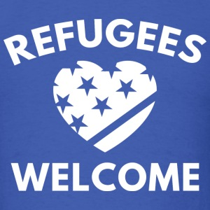 Refugees Welcome - Men's T-Shirt