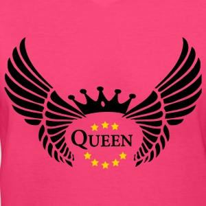 ROYAL-QUEEN - Women's V-Neck T-Shirt