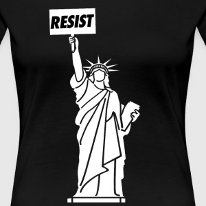 Resist for Liberty - Women's Premium T-Shirt