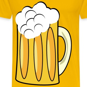 Beer cup mug - Men's Premium T-Shirt