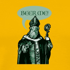 St. Patrick Beer Me! - Men's Premium T-Shirt
