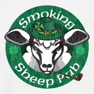 Smoking Sheep Pub - Men's Premium T-Shirt