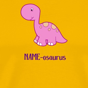 Dinosaur name osaurus kid's - Men's Premium T-Shirt