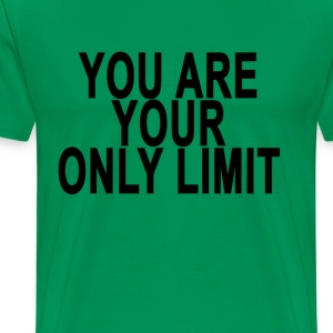 your_only_limit_ - Men's Premium T-Shirt