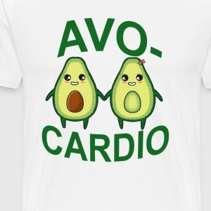 avocardio_avocado_ - Men's Premium T-Shirt