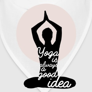 Yoga is always a good idea Caps - Bandana