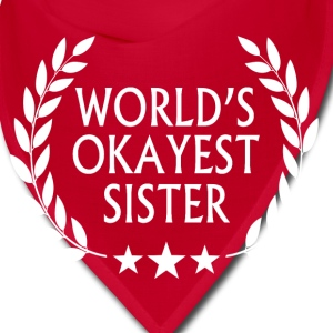 World's okayest sister Caps - Bandana