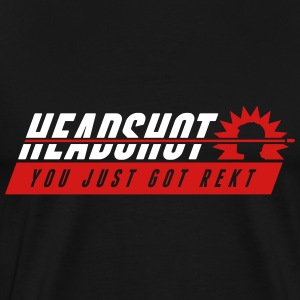 headshot T-Shirts - Men's Premium T-Shirt