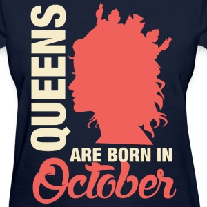 Born In October T-Shirts - Women's T-Shirt