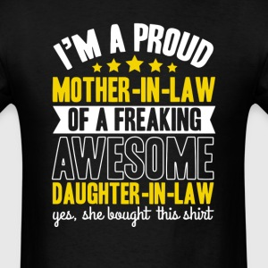 Mother -in-Law Of a Freaking Amazing Daughter-im-L T-Shirts - Men's T-Shirt