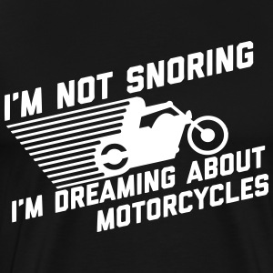 I'm Not Snoring T-Shirts - Men's Premium T-Shirt