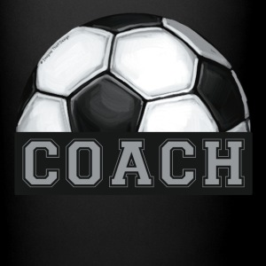 Soccer Coach Art Mug - Full Color Mug