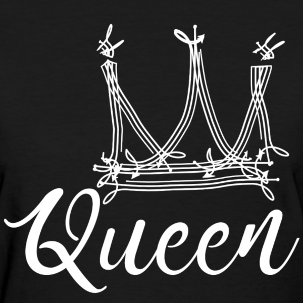 queen.png T-Shirts - Women's T-Shirt