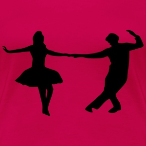 dancing couple T-Shirts - Women's Premium T-Shirt