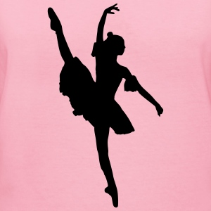 Dancer, Ballet dancer, Ballerina T-Shirts - Women's V-Neck T-Shirt