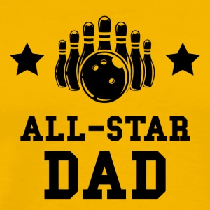 All Star Bowling Dad - Men's Premium T-Shirt