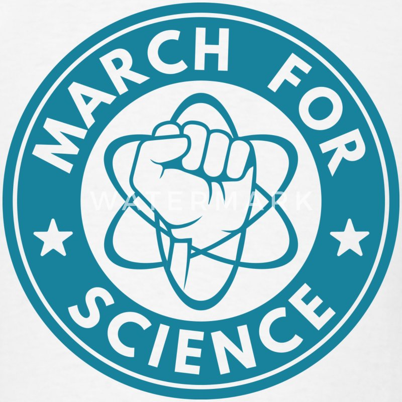 March For Science - Men's T-Shirt