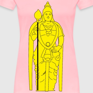 Batu Caves Lord Murugan Statue - Women's Premium T-Shirt