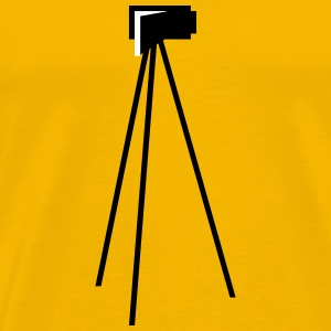 Video Camera Tripod - Men's Premium T-Shirt