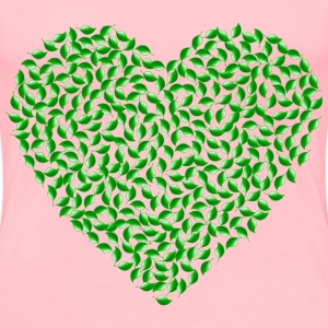 Green Heart - Women's Premium T-Shirt