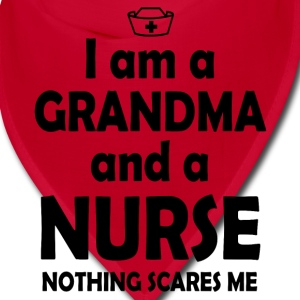 I am a grandma and a nurse Caps - Bandana