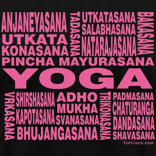 Yoga Asanas - Women's T-shirt - pb