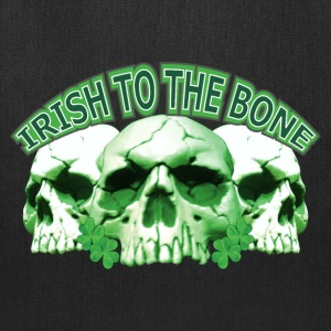 Irish to the Bone Skull Bags & backpacks - Tote Bag