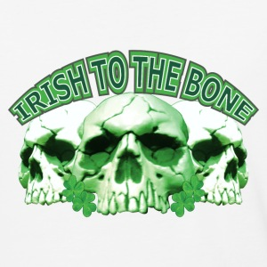 Irish to the Bone Skull T-Shirts - Baseball T-Shirt