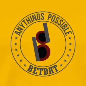 Betdat anythings possible - Men's Premium T-Shirt